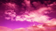 Abstract Pinkish Clouds, HD Progressive Frames, Clean video