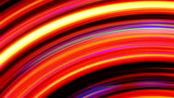 Abstract Rainbow Light Streaks Loop video