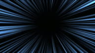 abstract scene of fly in space, wormhole or blackhole video