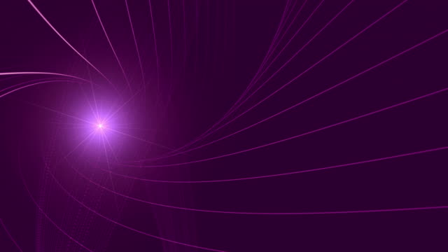 Abstract Shape Background Animation With Lens Flare video