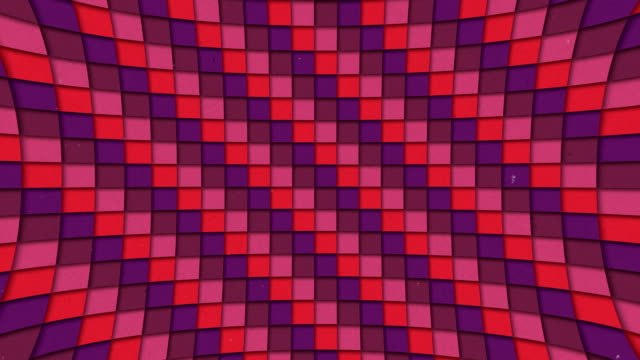 Abstract Shapes Colorful Squares Pattern Seamless Looping Animated Texture video