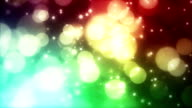 Abstract shiny background with stars video