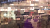 abstract shopwindow pixelized blur video
