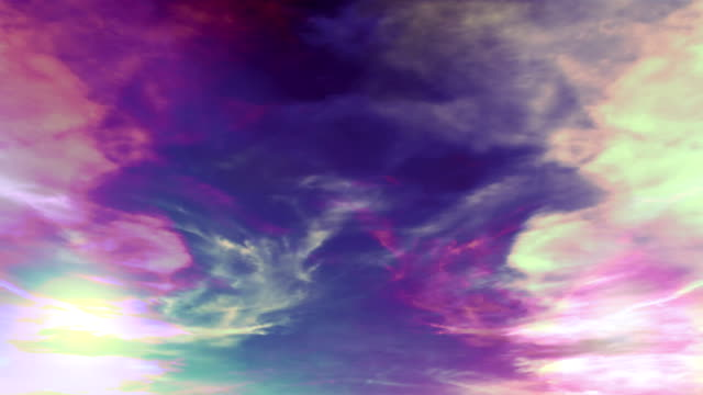 Abstract sky and clouds video