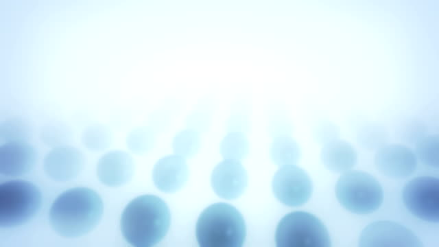 Abstract spheres aniamtion loop video