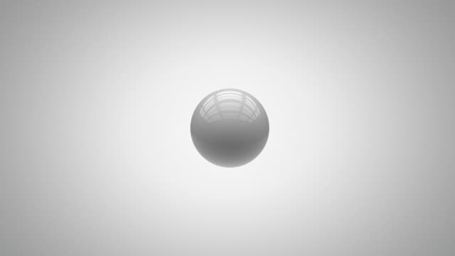Abstract Spheres with matte video
