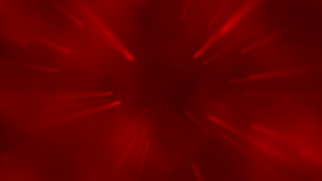 Abstract Spinning Lights Red video