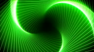 Abstract Spiral. Green. video