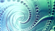 Abstract spiraling Spheres Background video