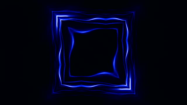 Abstract Square Technology Animation, Background, Rendering, Loop video