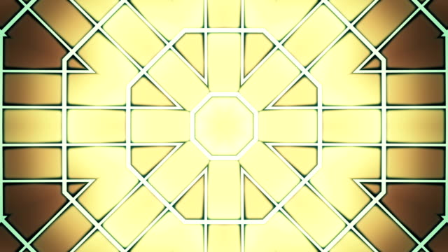 Abstract symmetry background animation video