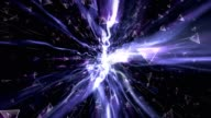 Abstract Technology Fiber Stripes Explosion Animation, Rendering, Background, Loop video