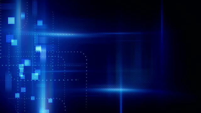 abstract technology loopable background video