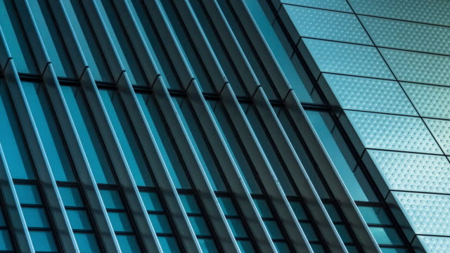 Abstract Time Lapse of Modern Office Building video