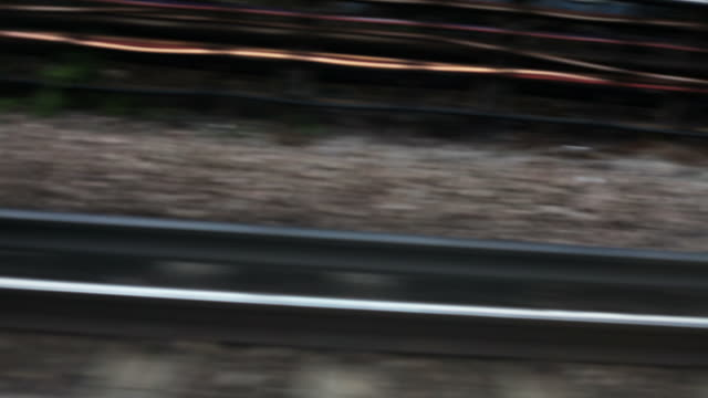 Abstract Train Tracks video