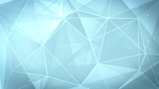 abstract triangle geometrical gray background loop video