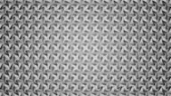 Abstract video black and white geometric background seamless loop. video