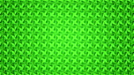 Abstract video green geometric background seamless loop. video