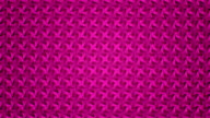 Abstract video pink and purple geometric background seamless loop. video