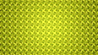 Abstract video yellow geometric circular background seamless loop. video