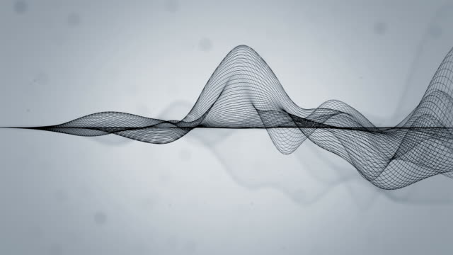 Abstract Wavy Lines video