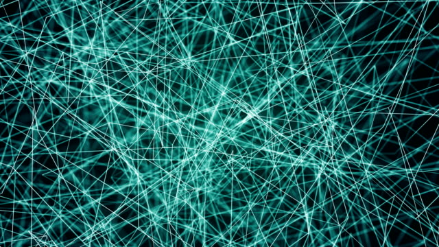 abstract web background with lines video