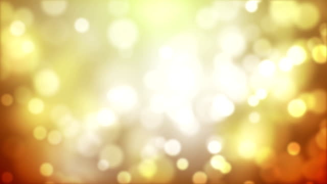 Abstract Yellow Soft Particles Background video