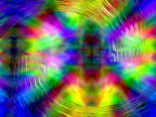 Abstract zooming spiral refracting psychedelic background video