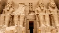 Abu Simbel in Egypt video