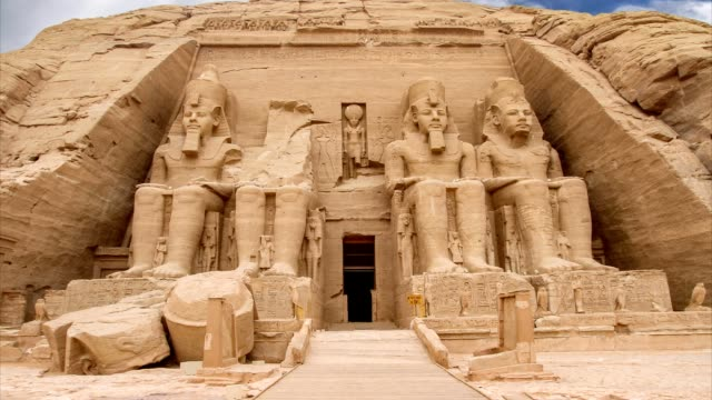 Abu Simbel in Egypt video