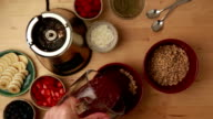 Acai Bowl Healthy Smoothie Sequence video
