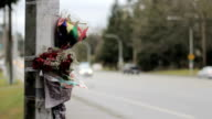 Accident Scene Memorial video