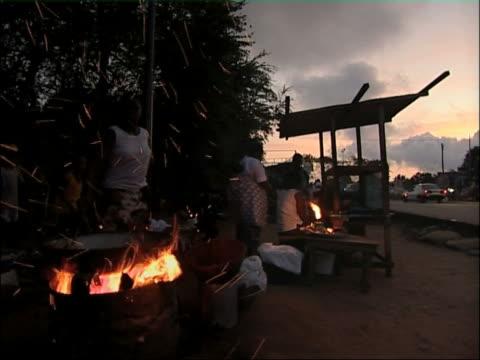 Accra evening. video