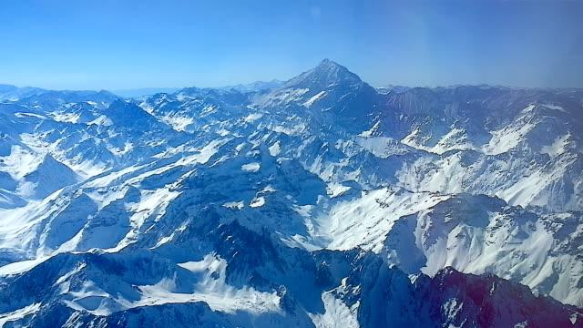 aconcagua montaña desde el aire video