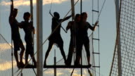 Acrobat Team.. video