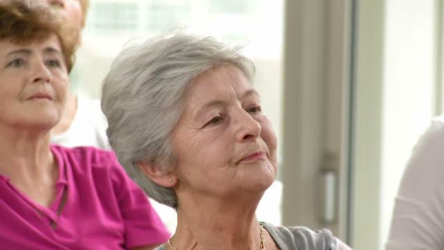HD: Active Senior Women Doing Exercises video