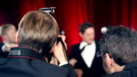 Actor on RED Carpet video