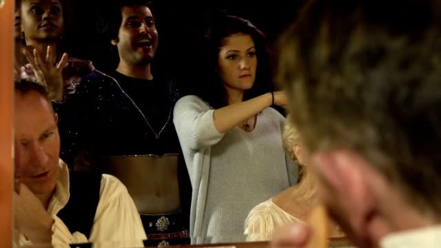 Actors in Dressing Room video