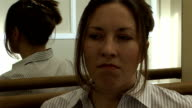 Actress waiting to audition, HD PAL video
