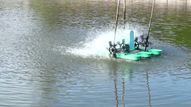 Adding Oxygen water with Water Turbines video