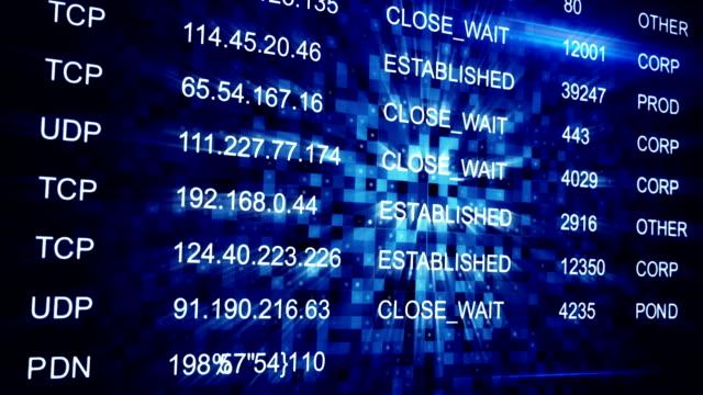IP address seamless loop background video