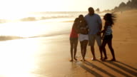 Adorable family on vacation video