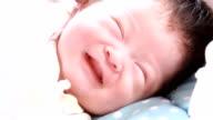 Adorable Newborn Baby Sleeping. video