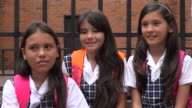 Adorable School Girls Laughing video