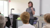 HD DOLLY: Adult Attending First Aid Seminar video