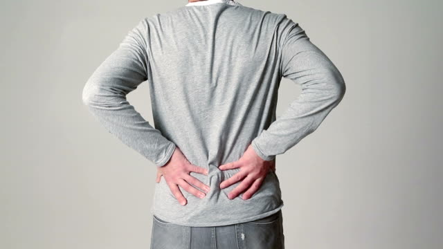Adult Male with Back Pain video