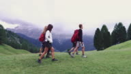 Adventures on the Dolomites: family together video