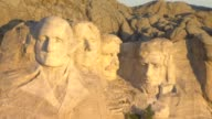 Aerial America Mt. Rushmore video