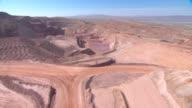 Aerial America Nevada Quarry video