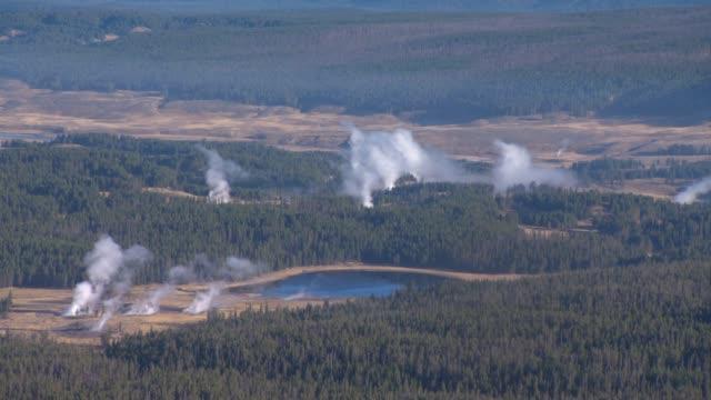 Aerial America Yellowstone video